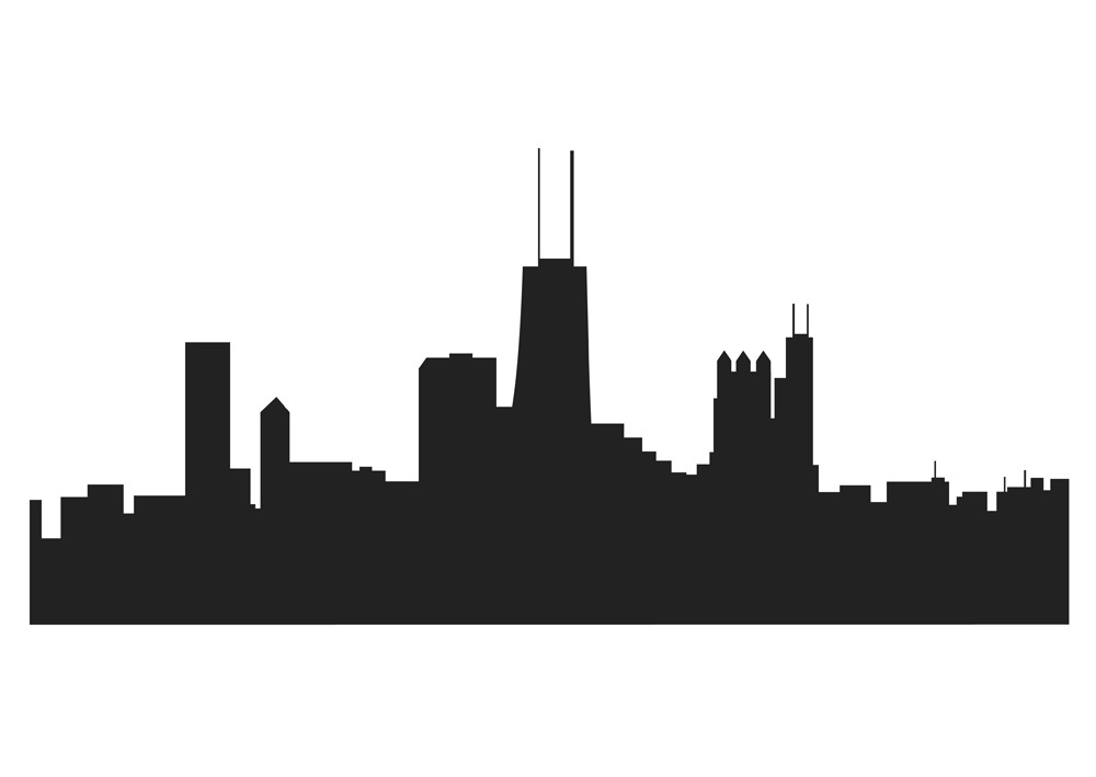 chicago skyline outline chicago skyline outline drawing at paintingvalleycom skyline chicago outline