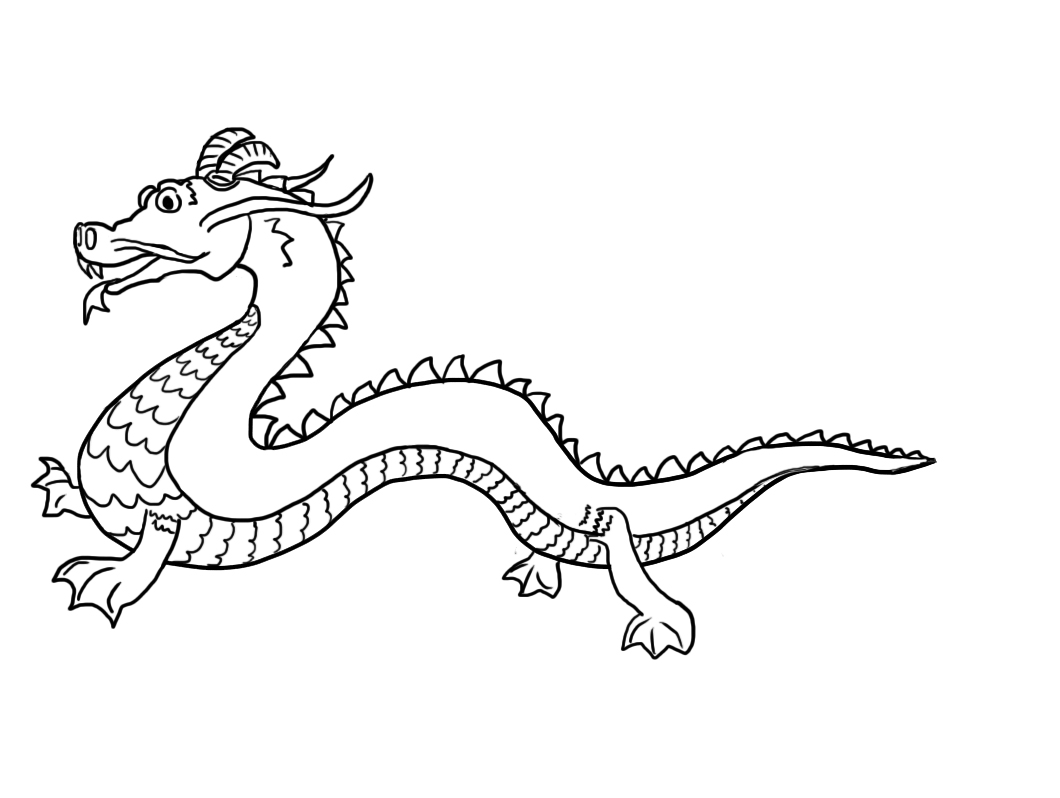 chinese dragon coloring free printable chinese dragon coloring pages for kids coloring chinese dragon
