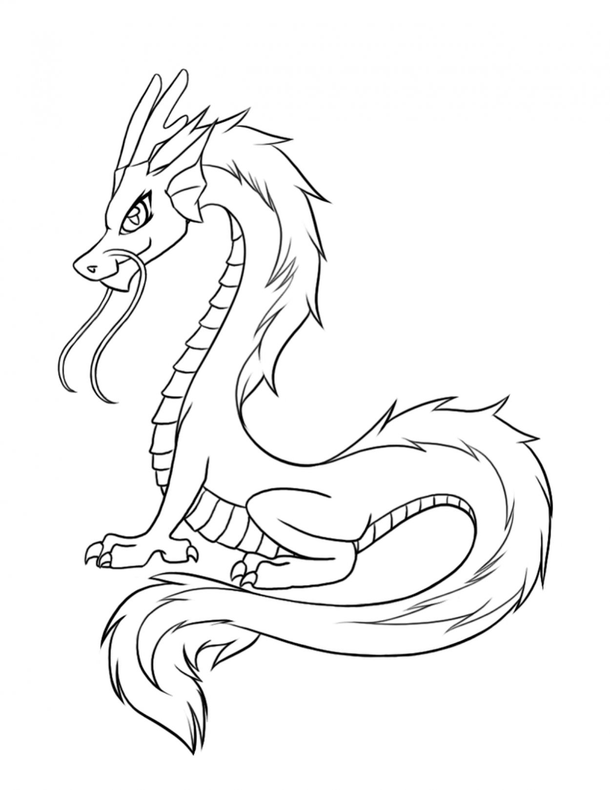 chinese dragon coloring free printable chinese dragon coloring pages for kids coloring dragon chinese 1 2