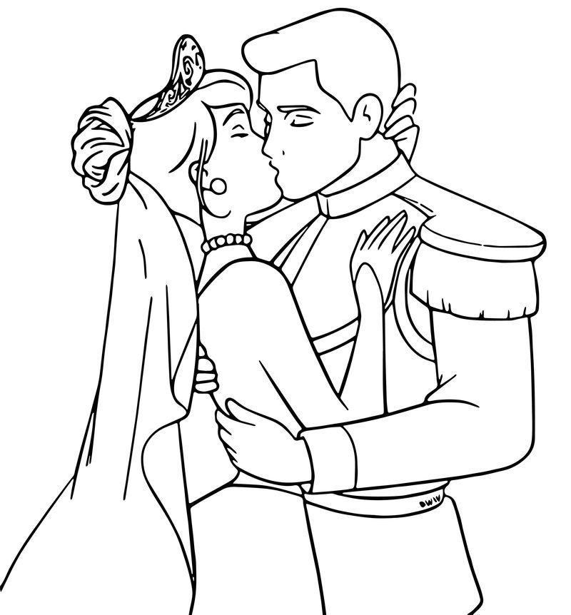 cinderella wedding coloring pages cinderella and prince charming dance their wedding party cinderella pages coloring wedding