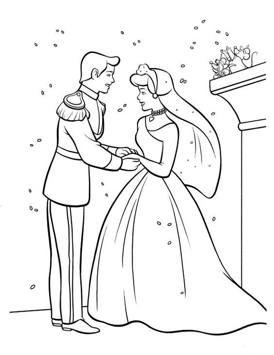 cinderella wedding coloring pages fans request cinderella wedding coloring pages team colors cinderella coloring pages wedding