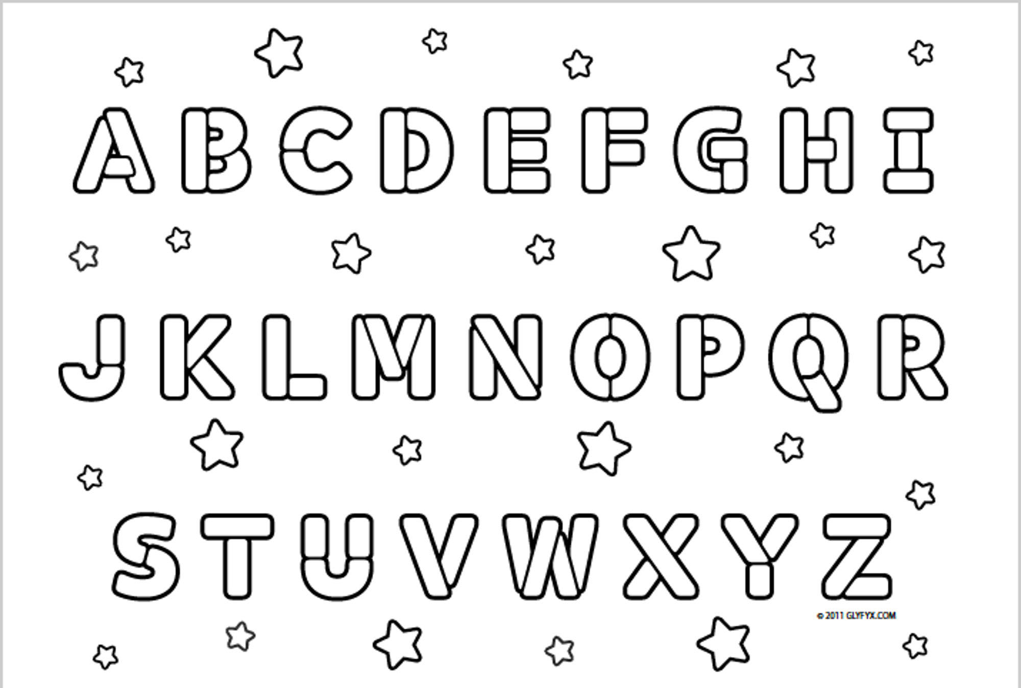 coloring alphabet online be creative with abc coloring pages alphabet coloring online