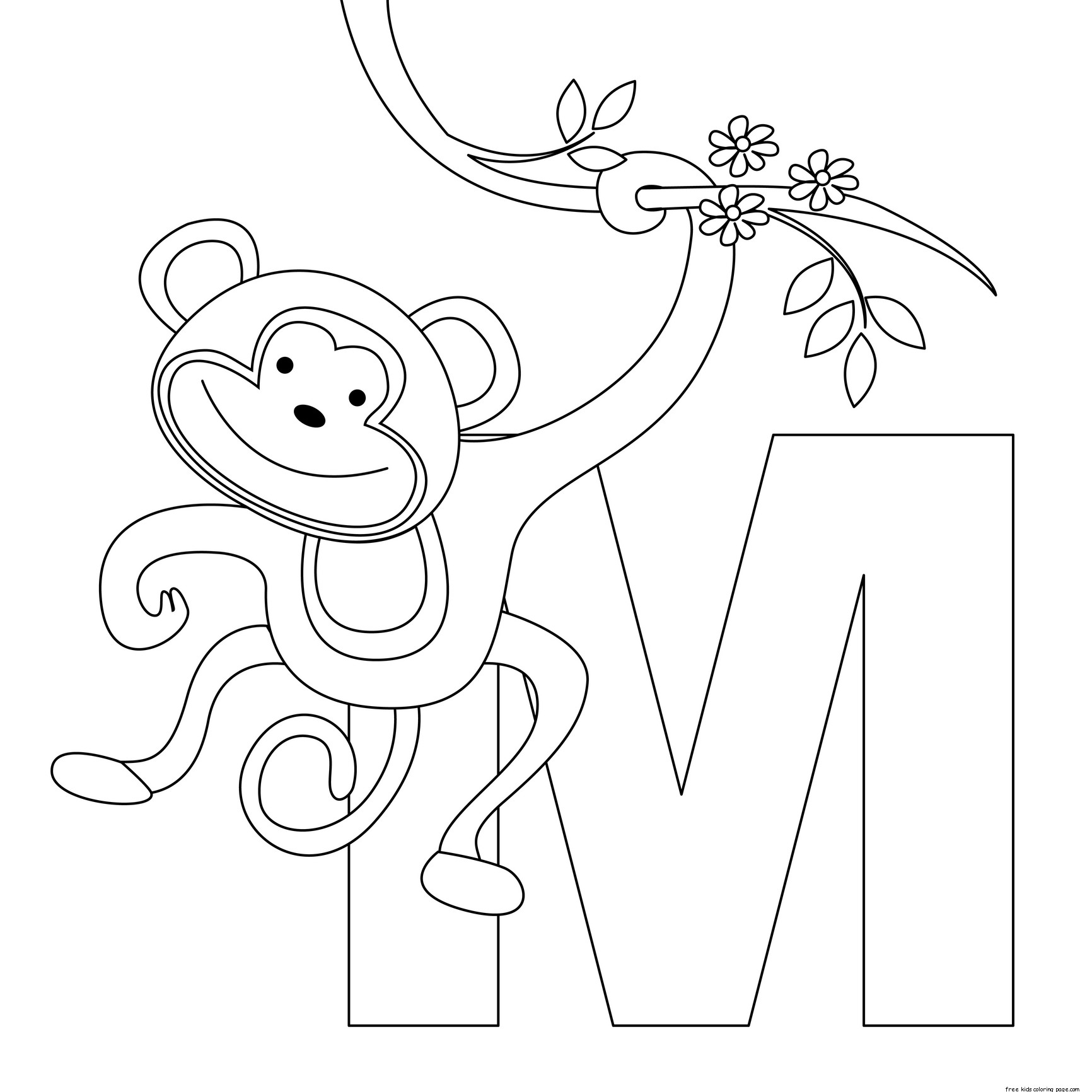 coloring alphabet online printable animal alphabet letters m coloring pagesfree online alphabet coloring