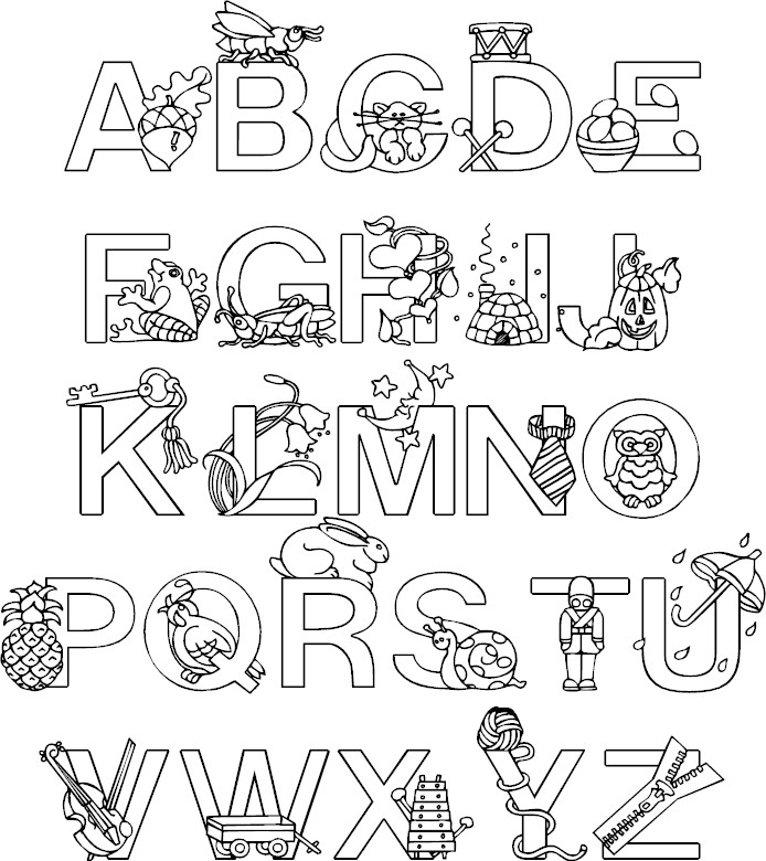 coloring alphabet pages alphabet coloring pages pages alphabet coloring