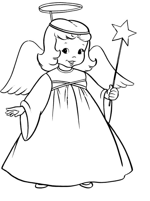 coloring angel kids angel coloring pages for kids google search angel angel kids coloring