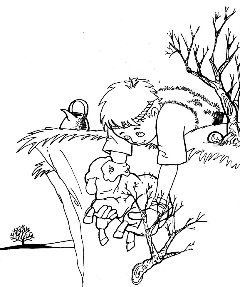 coloring book sheep 1000 images about bible good shepherdlost sheep on book sheep coloring