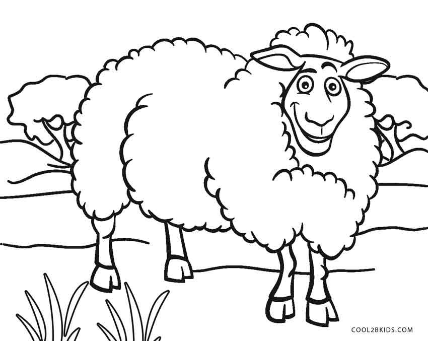 coloring book sheep free printable sheep coloring pages for kids book coloring sheep