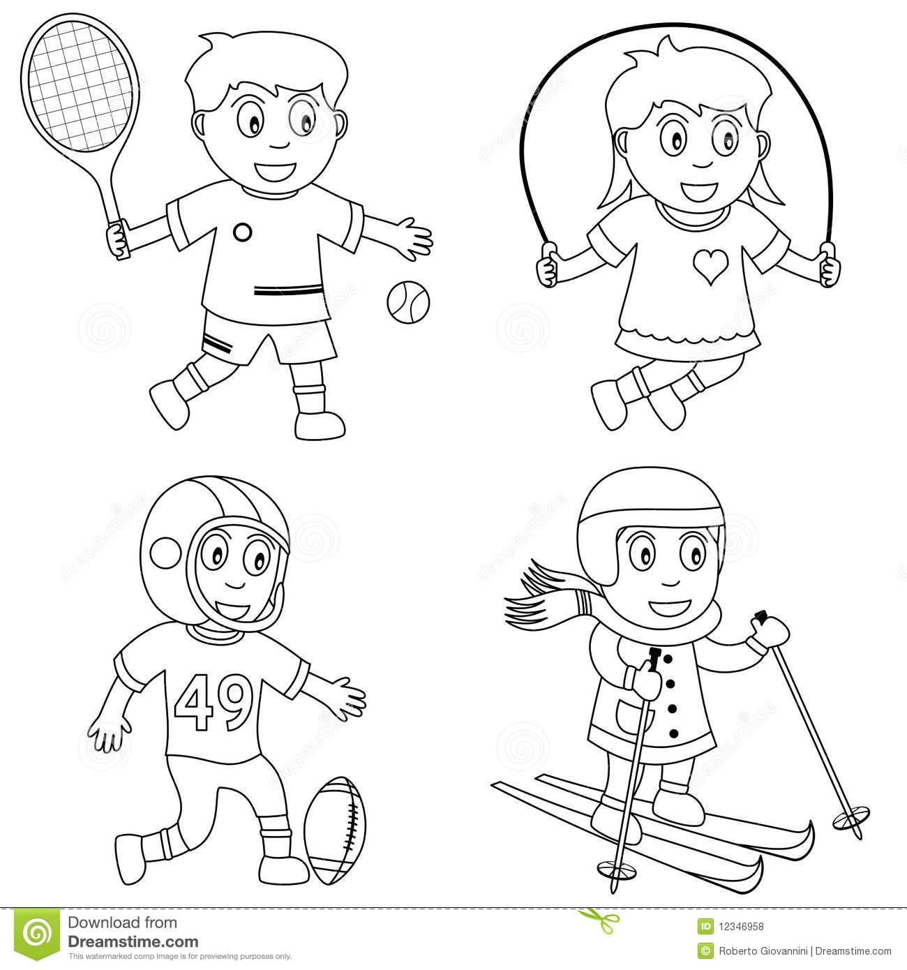 coloring clipart of kids best children singing clipart 19588 clipartioncom kids clipart of coloring