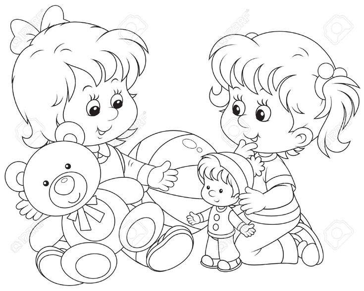 coloring clipart of kids children reading clip art black and white 20 free cliparts of kids coloring clipart