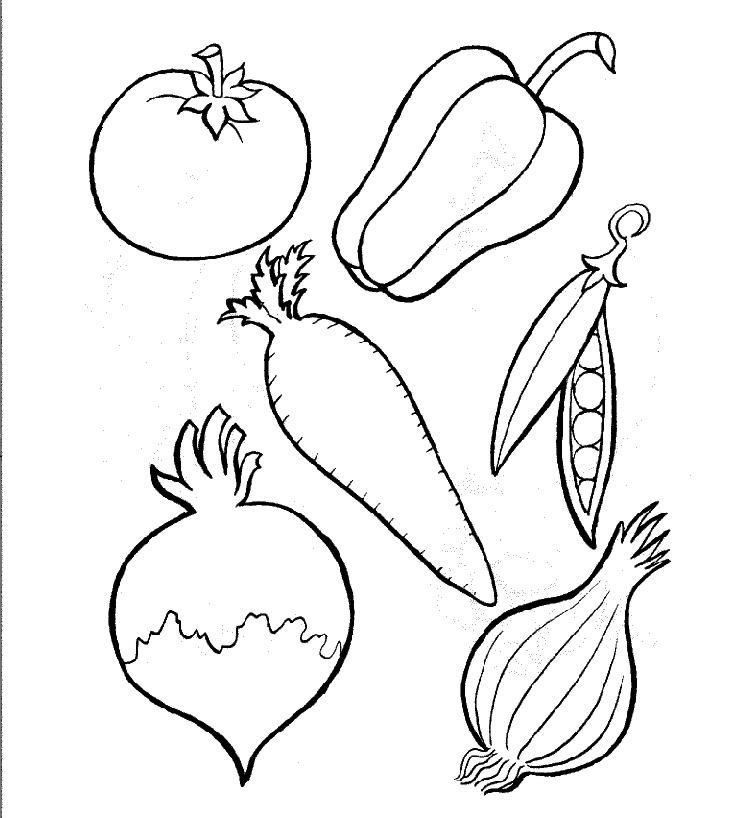 coloring fruits and vegetables images fruit and vegetable coloring pages for preschool vegetables fruits coloring images and