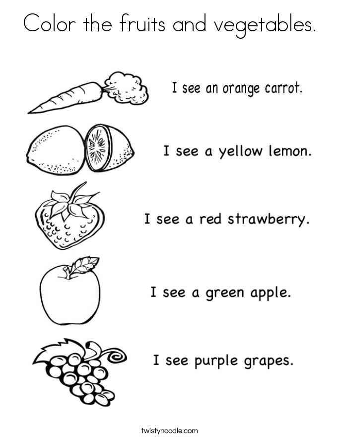 coloring fruits and vegetables images fruit and vegetable page 2 of 6 coloring pages and images vegetables fruits coloring