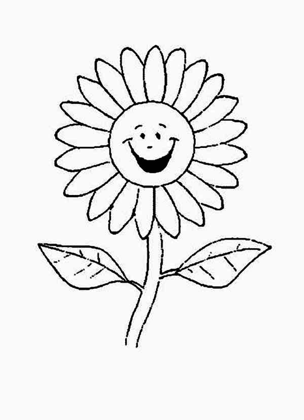 coloring image of a flower sunflowers clipart to color clipground coloring image a flower of