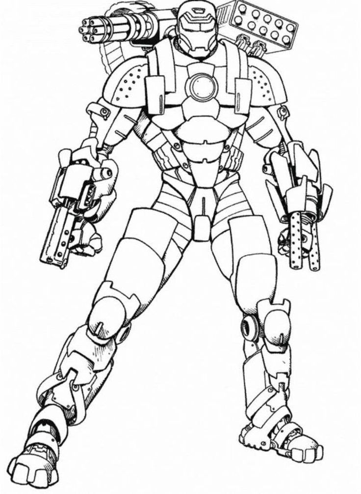 coloring iron man free printable iron man coloring pages for kids best iron man coloring
