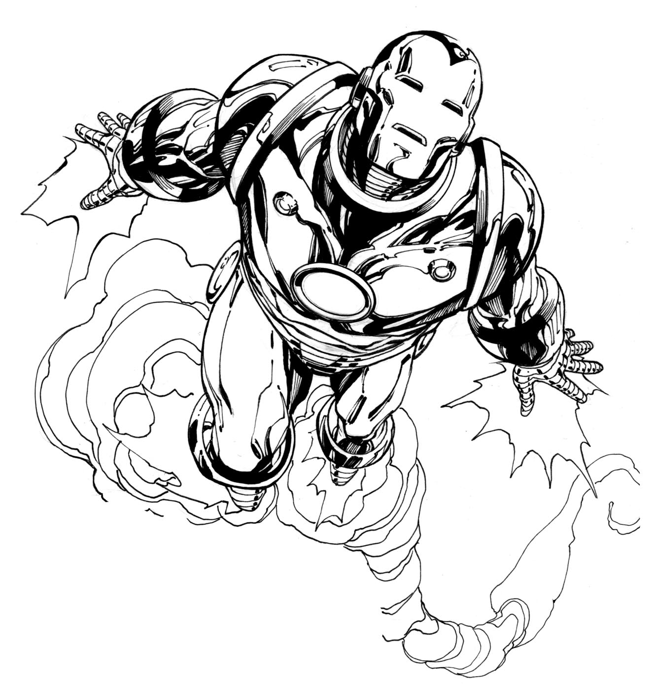 coloring iron man free printable iron man coloring pages for kids best man iron coloring