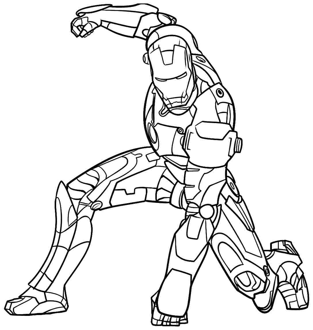 coloring iron man free printable iron man coloring pages for kids iron man coloring
