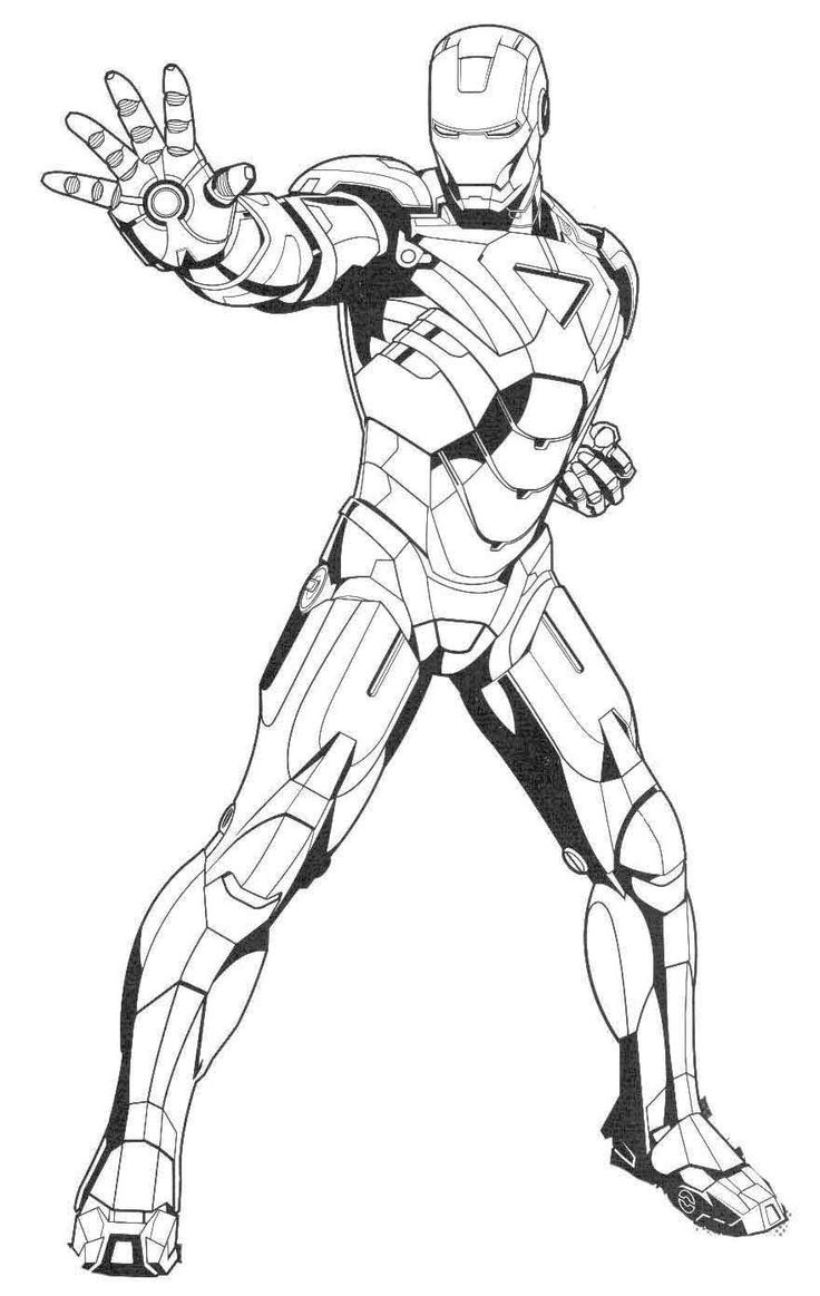coloring iron man free printable iron man coloring pages for kids man iron coloring