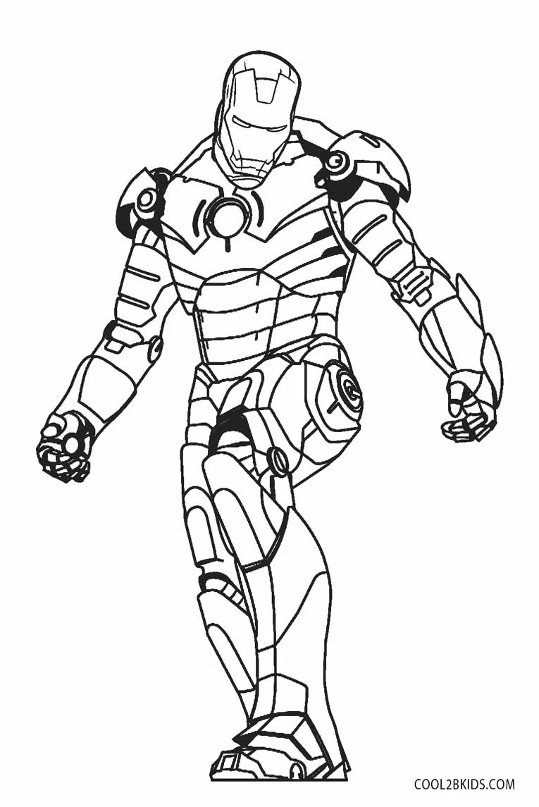 coloring iron man iron man outline drawing at getdrawings free download man iron coloring
