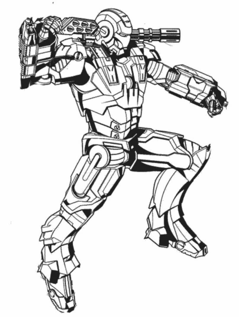 coloring iron man iron man the avengers best coloring pages minister iron man coloring