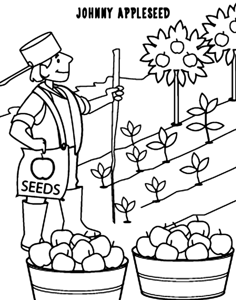 coloring johnny appleseed clip art coloring sheet johnny appleseed education world johnny art appleseed clip coloring