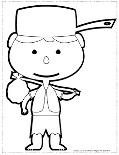 coloring johnny appleseed clip art johnny appleseed maze coloring page crayolacom coloring appleseed johnny clip art