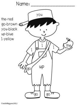 coloring johnny appleseed clip art johnny appleseed sight word coloring sheet sight word appleseed clip johnny art coloring
