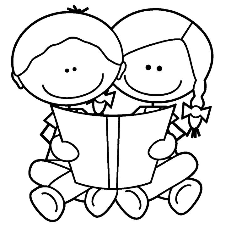 coloring kids clipart child at school coloring page coloring home kids clipart coloring