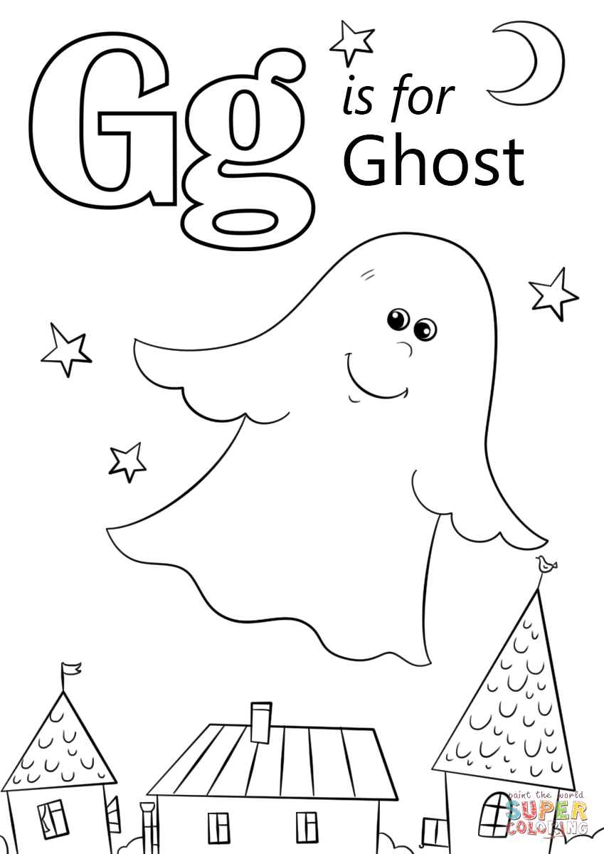 coloring letter g alphabet coloring pages g coloring letter