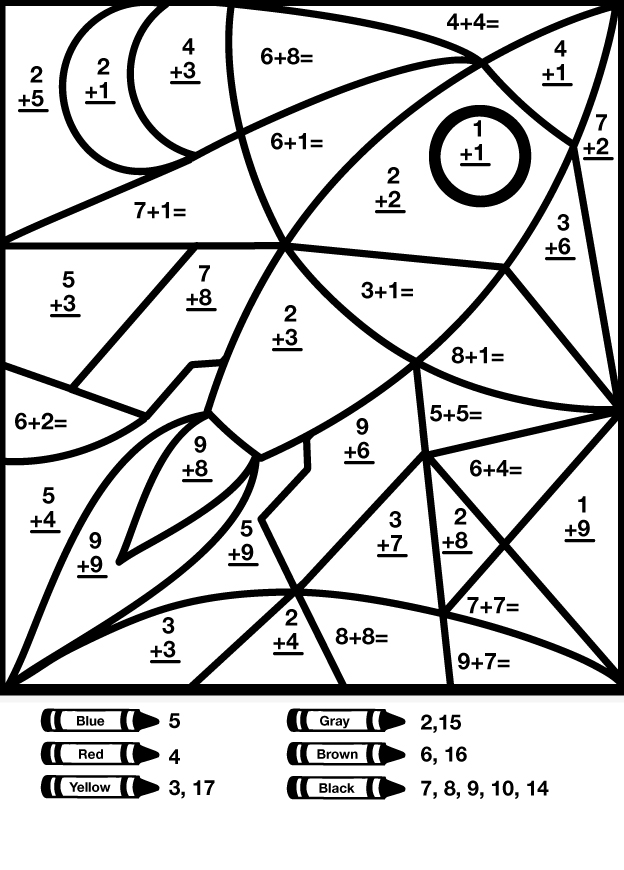 coloring math pictures math worksheet coloring by numbers free printables book coloring pictures math