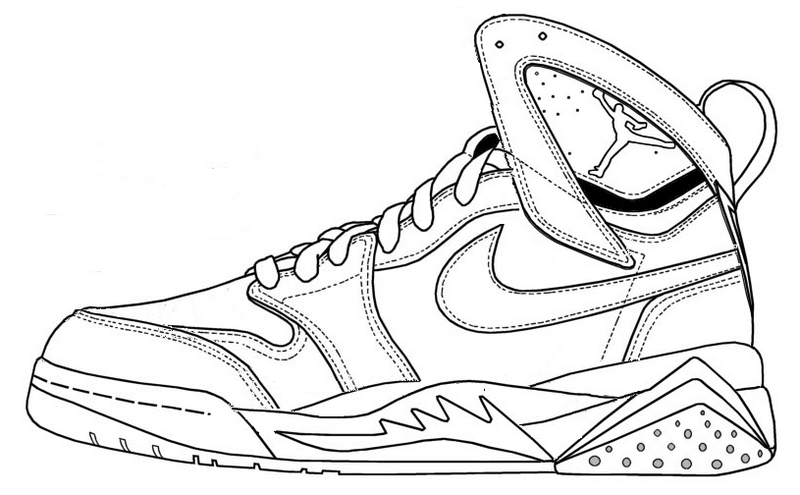 coloring nike shoes nike air force coloring pages shoes shoes nike coloring
