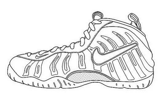coloring nike shoes nike coloring pages at getcoloringscom free printable nike coloring shoes