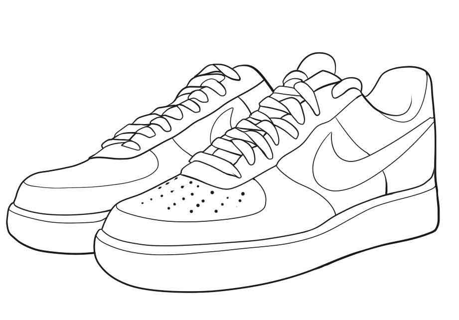 coloring nike shoes nike coloring pages coloring home shoes coloring nike