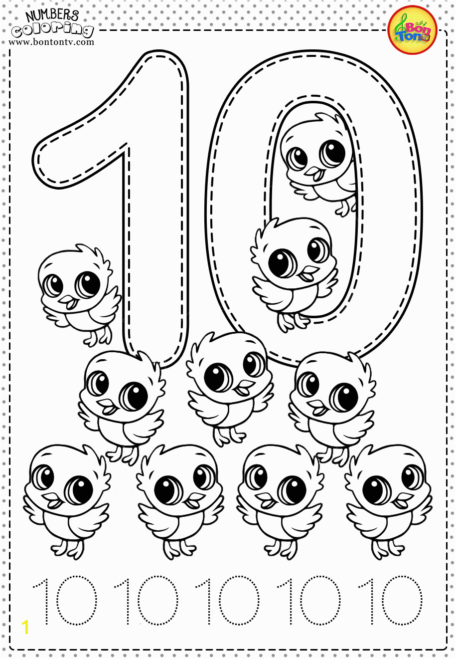 coloring number for preschool color by number coloring page free printable my mommy style for coloring number preschool