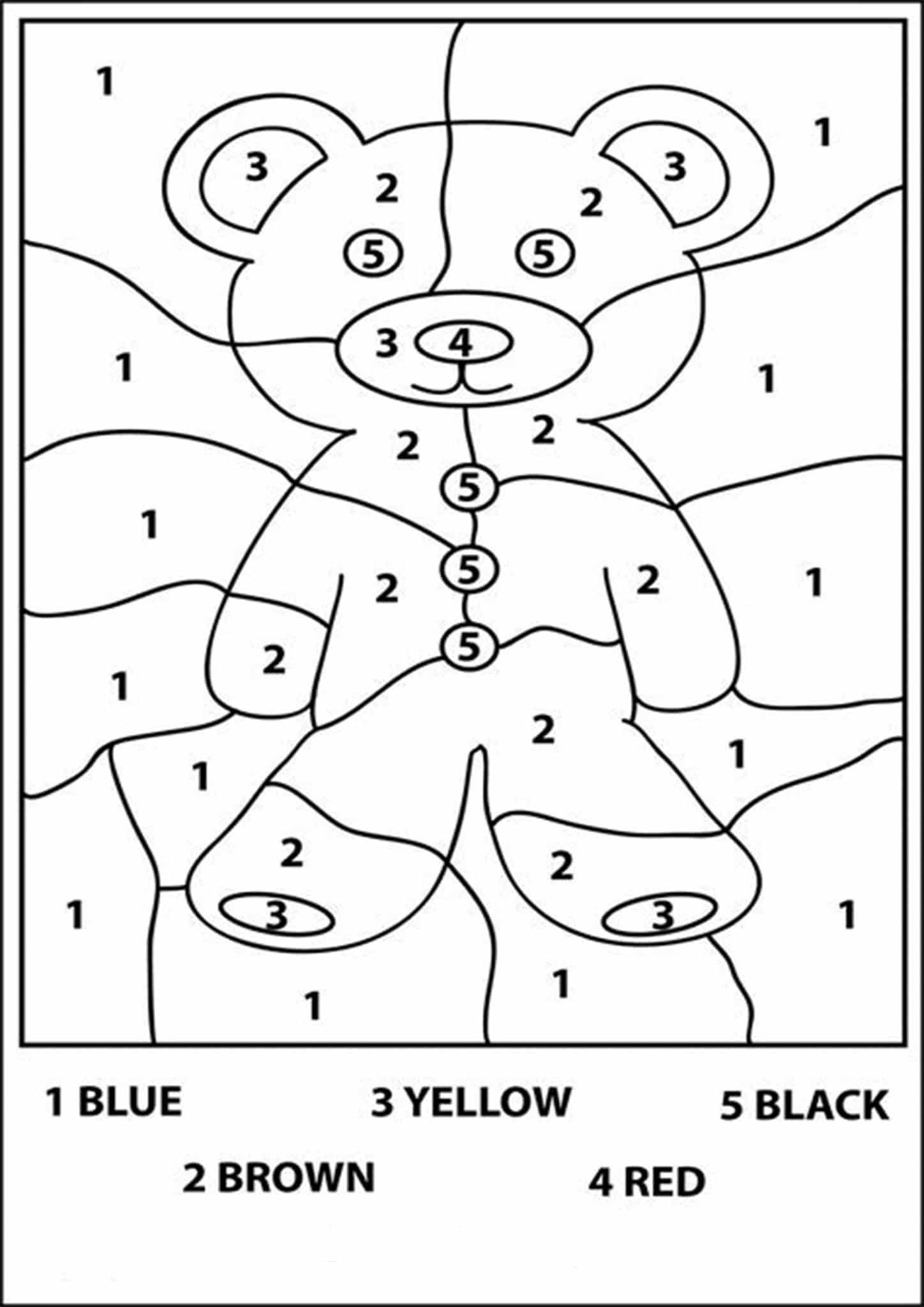 coloring number for preschool color by number coloring pages to download and print for free preschool number coloring for