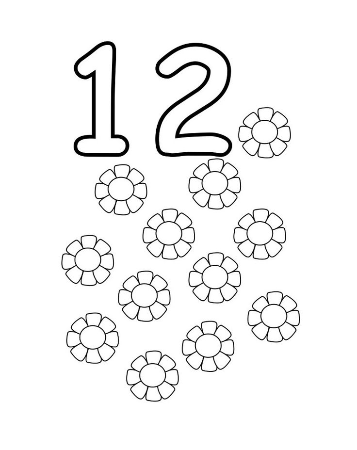coloring number for preschool number coloring pages easy learning with images preschool number coloring for