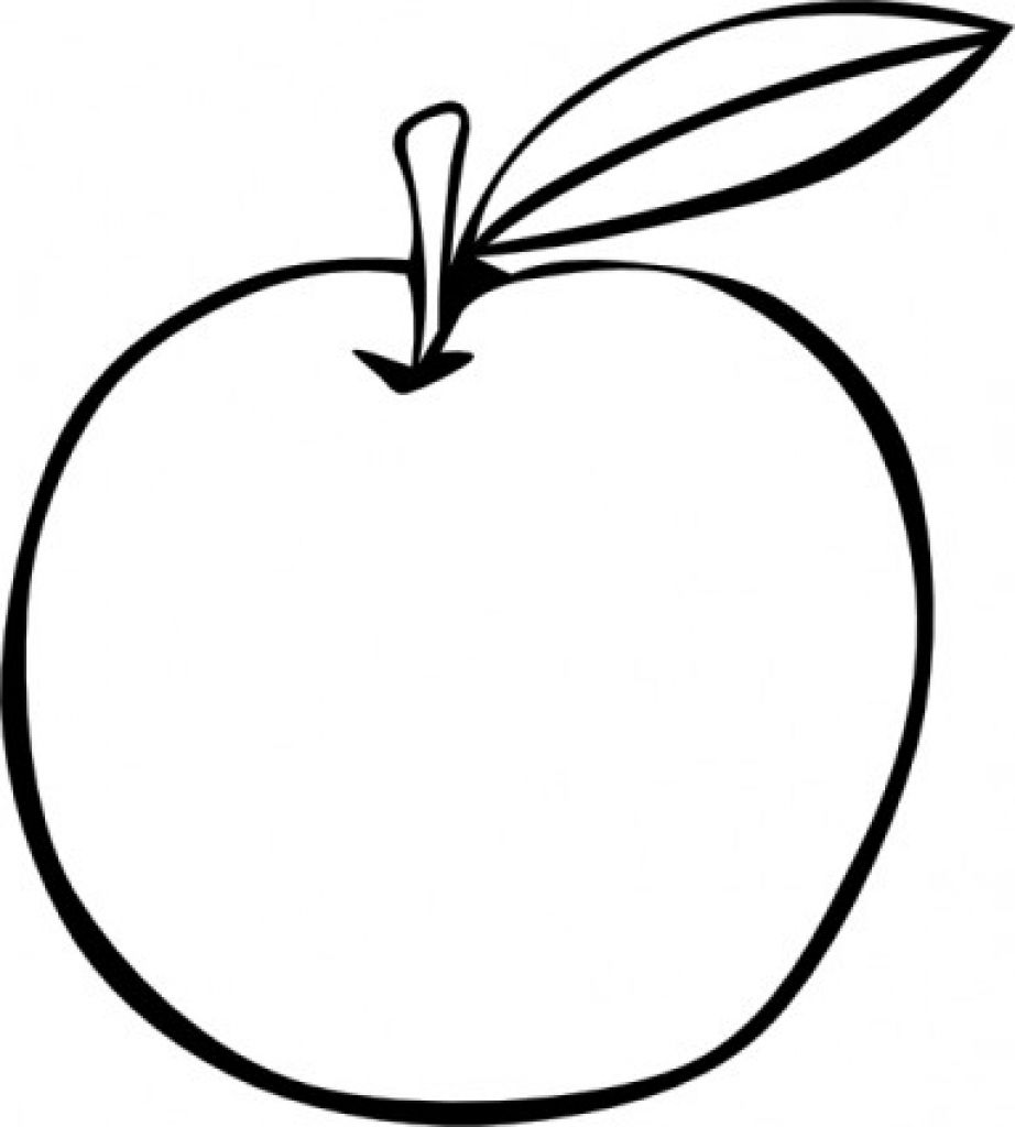 coloring outline fruits fruit coloring pages for childrens printable for free outline fruits coloring