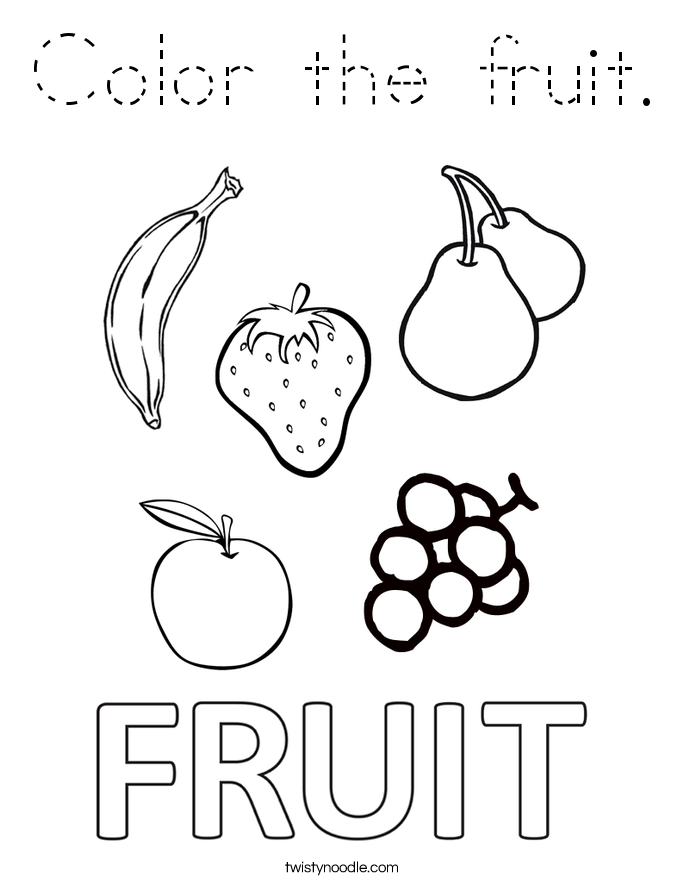 coloring outline fruits outline clipart fruit outline fruit transparent free for fruits outline coloring
