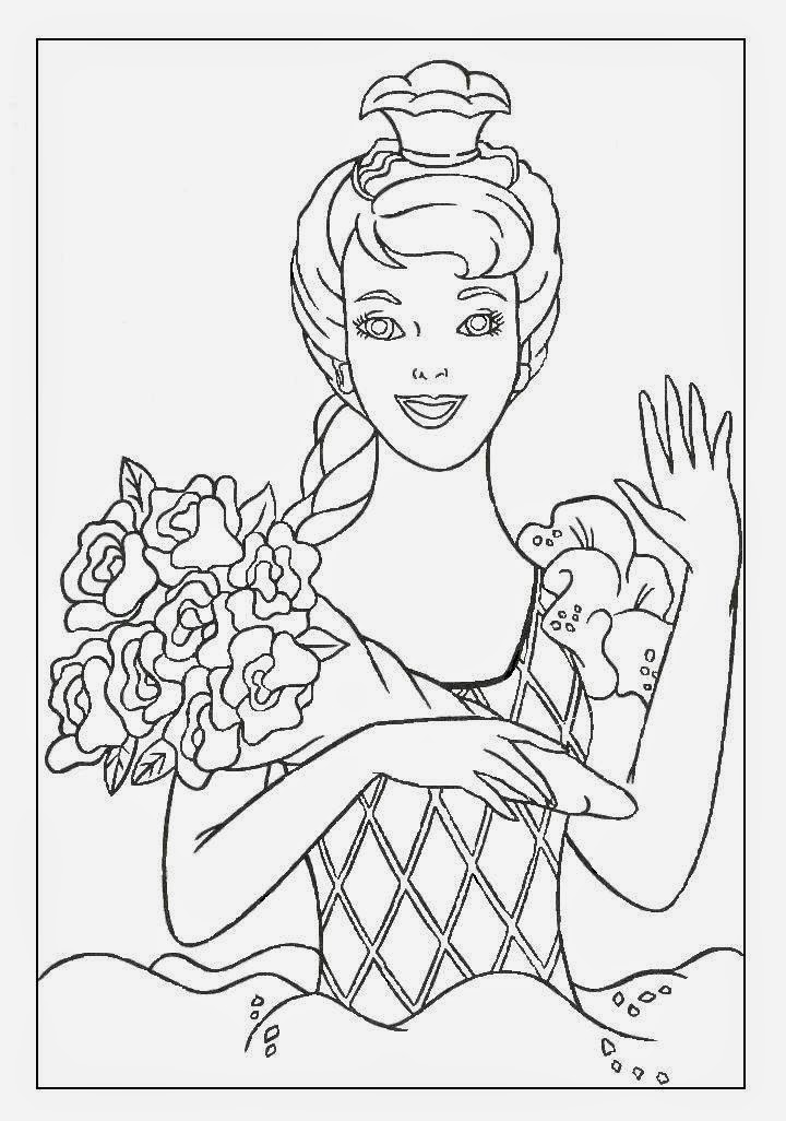 coloring page barbie coloring pages barbie free printable coloring pages page barbie coloring