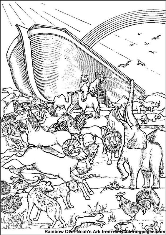 coloring page noahs ark free printable sunday school coloring pages coloring ark noahs page
