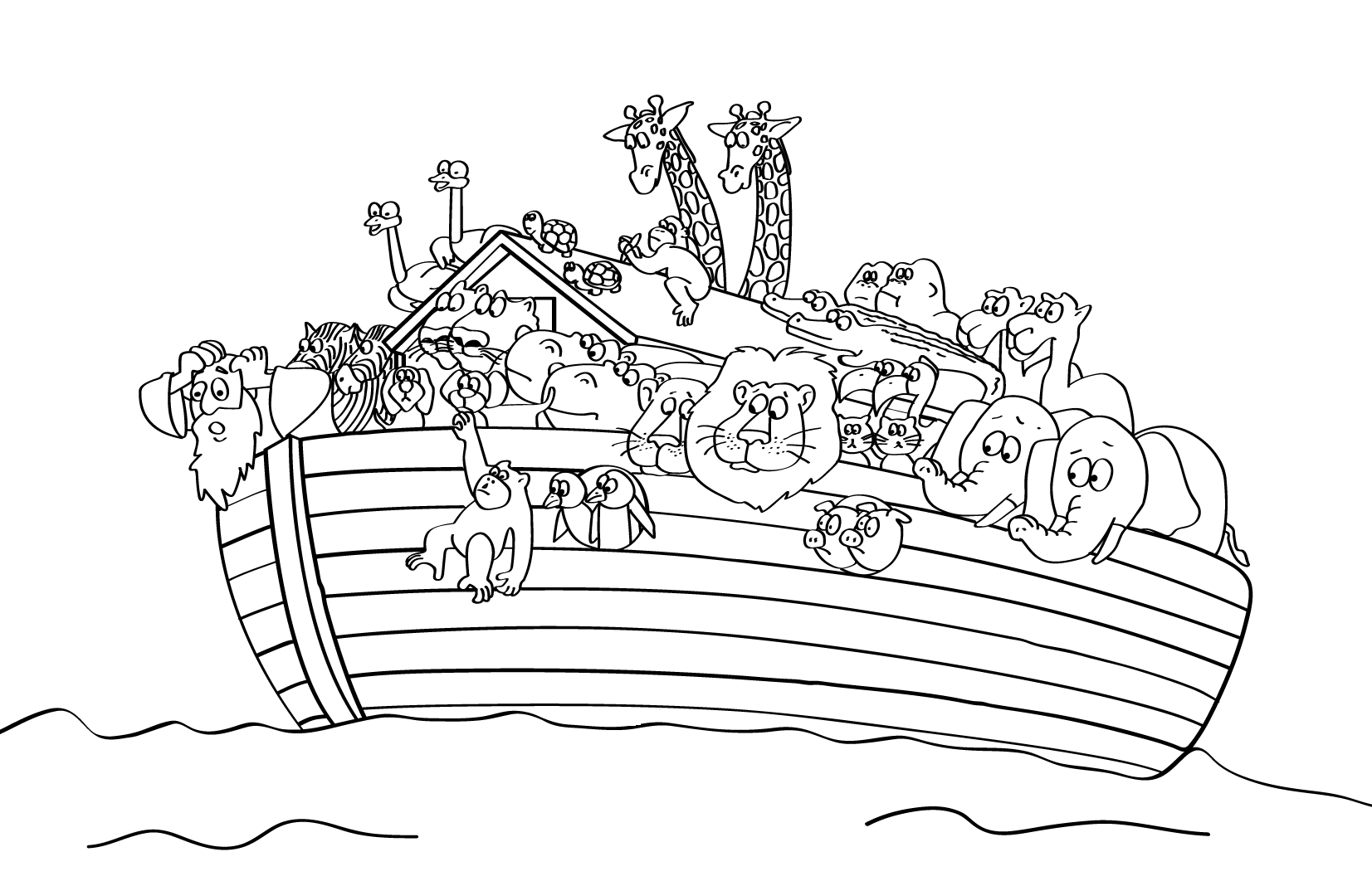 coloring page noahs ark noah ark coloring pages to download and print for free coloring ark page noahs