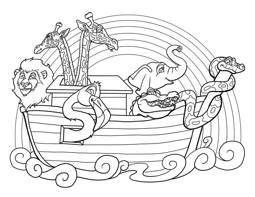 coloring page noahs ark noah ark coloring pages to download and print for free noahs coloring page ark