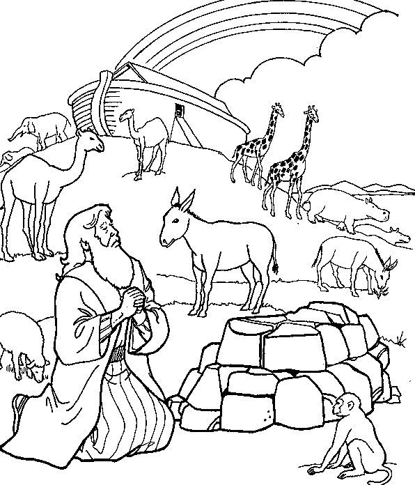 coloring page noahs ark noah ark with color coloring pages coloring ark page noahs