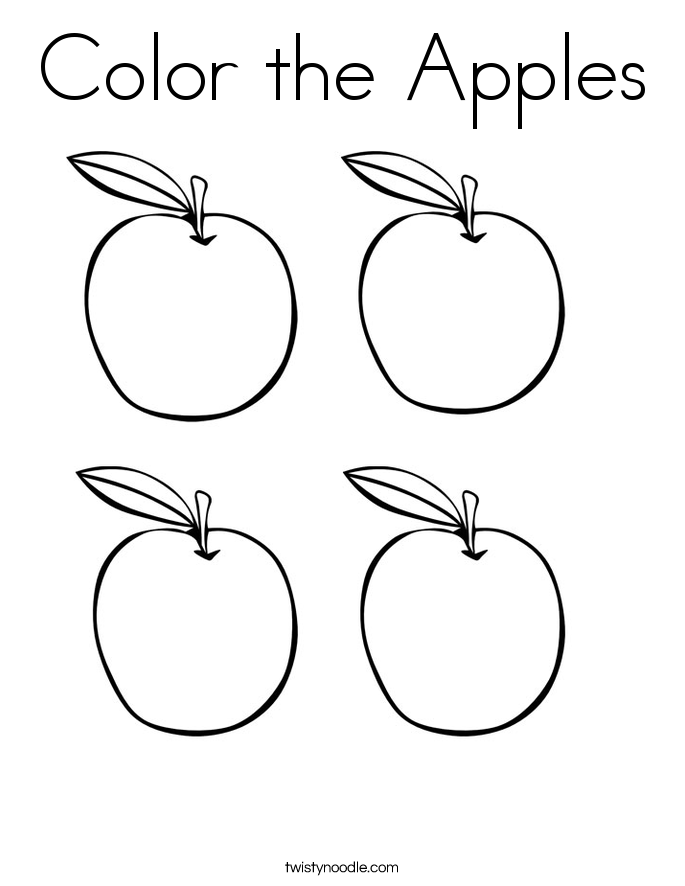 coloring page of an apple apple coloring pages coloring pages to download and print of coloring page apple an