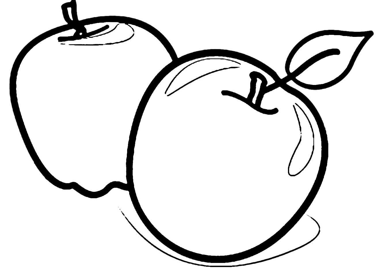 coloring page of an apple apple coloring pages to print an of apple page coloring