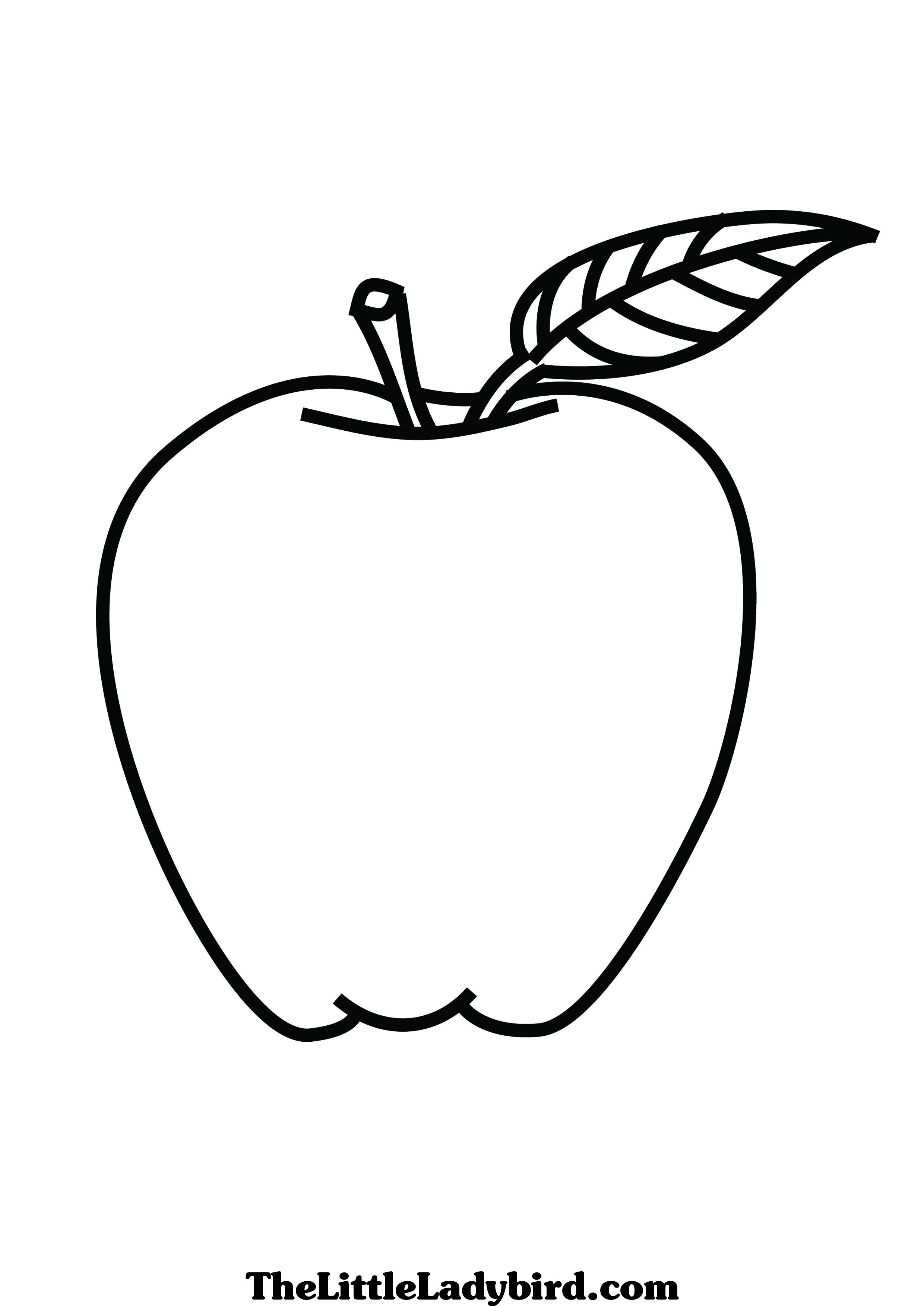 coloring page of an apple apple with pattern coloring page free printable coloring apple page coloring of an