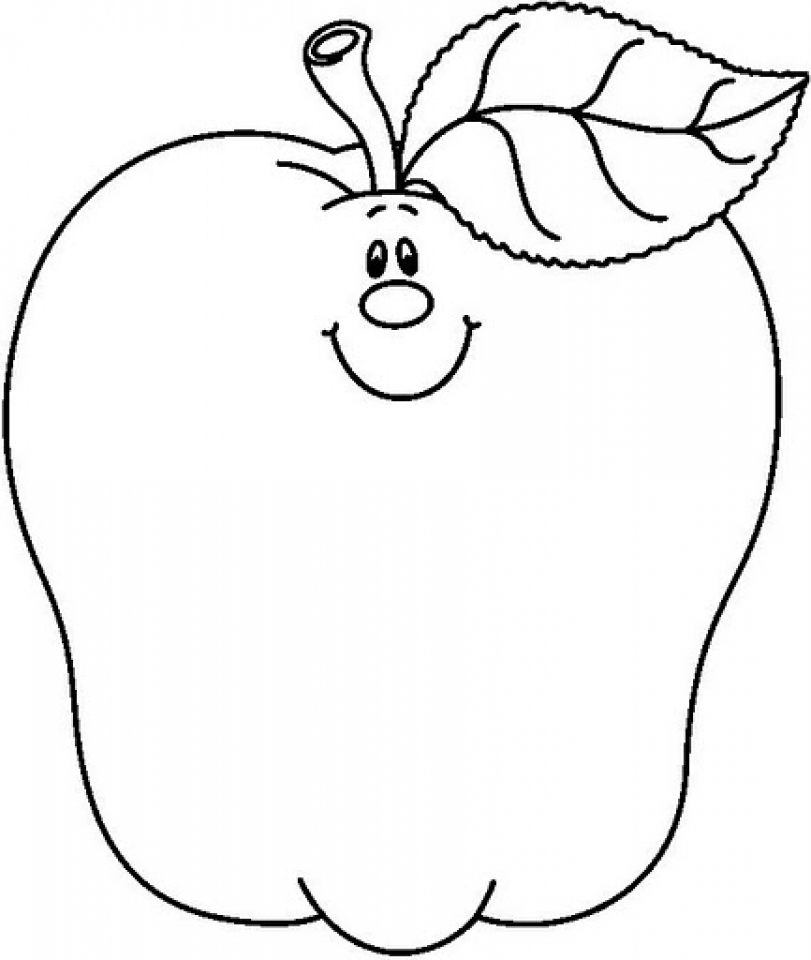 coloring page of an apple top 30 apple coloring pages for your little ones coloring of page apple an