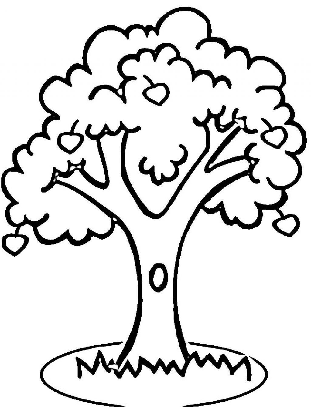 coloring page of apple tree coloring page for kids apple tree coloring home of apple tree page coloring