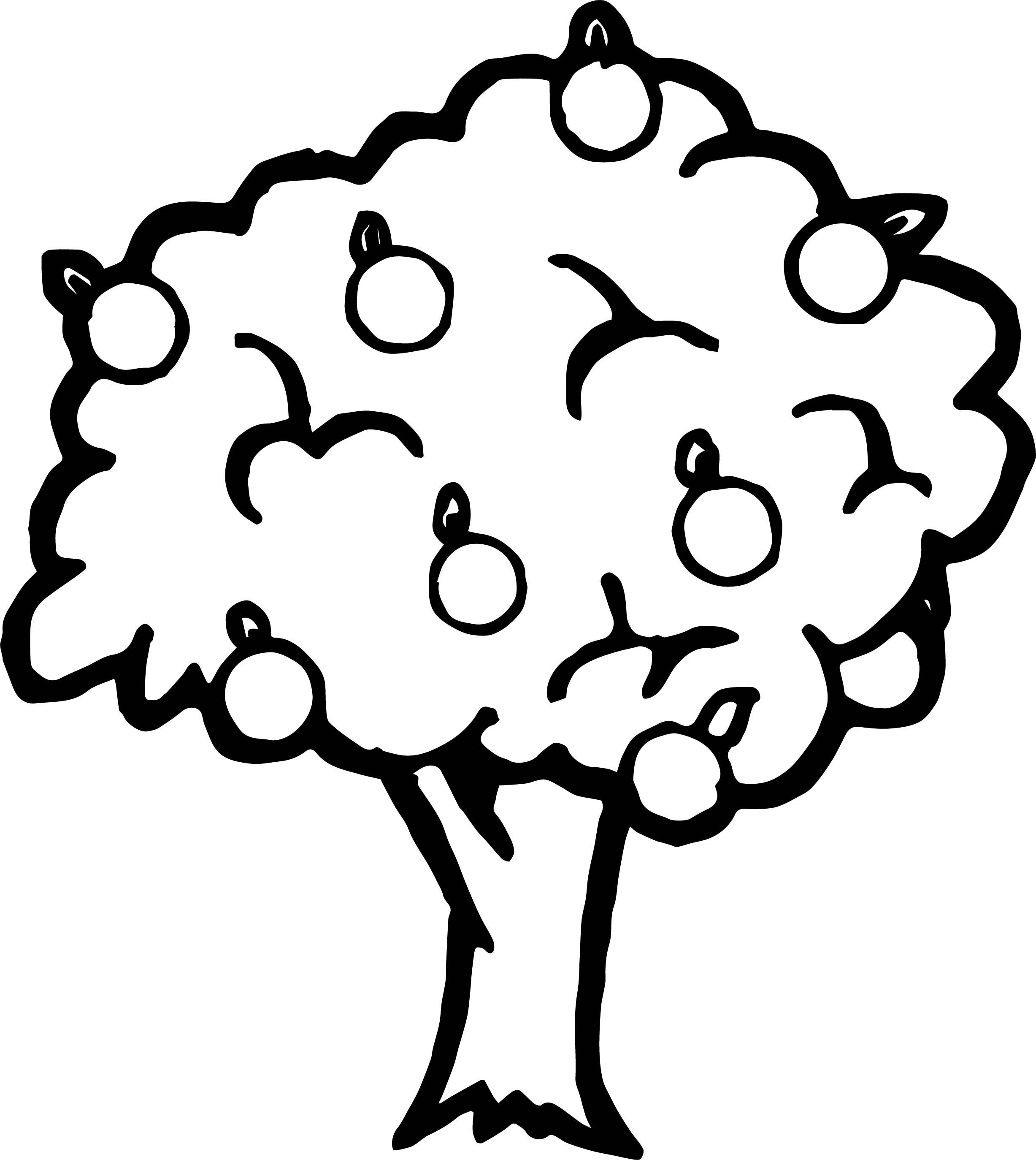 coloring page of apple tree tree to print trees kids coloring pages page coloring tree of apple