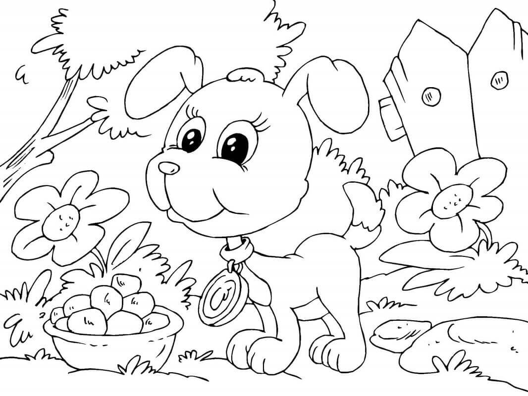 coloring page puppy 30 free printable puppy coloring pages puppy page coloring