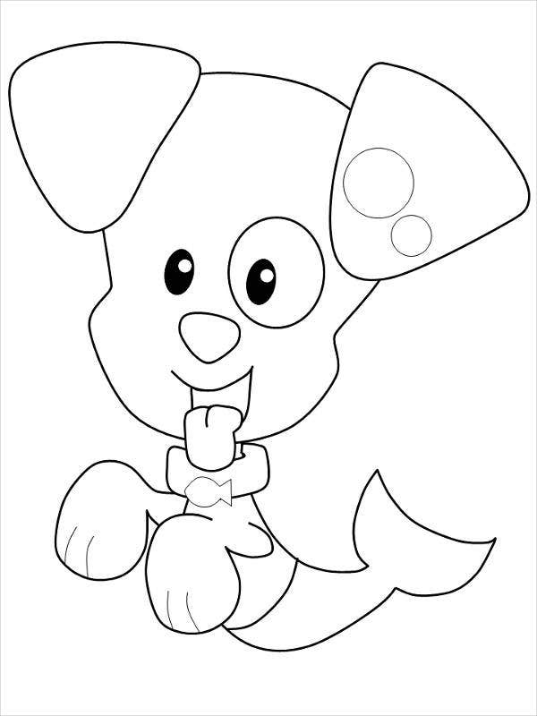 coloring page puppy free printable puppies coloring pages for kids page puppy coloring