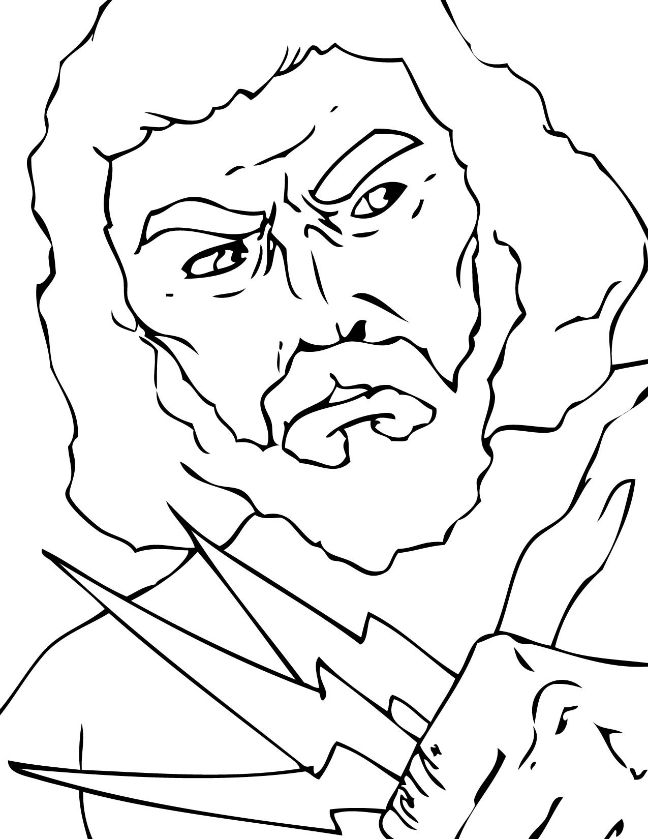 coloring page zeus pin by phoenix ryder on greek goddess39 coloring pages coloring zeus page